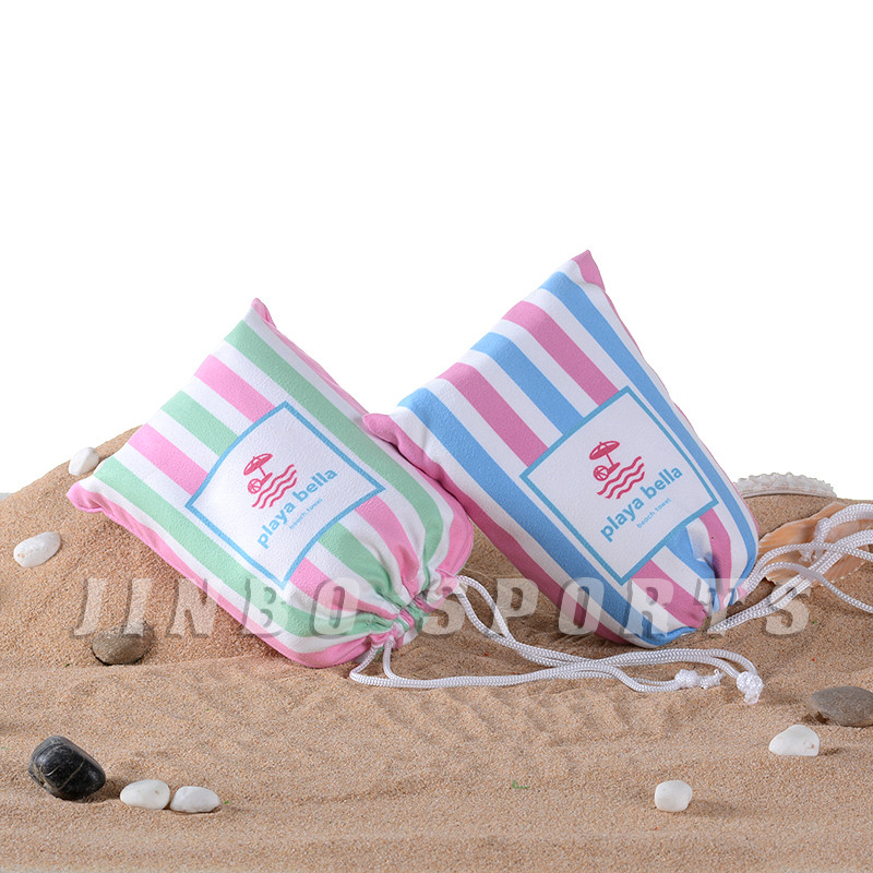 Hot Sale Microfiber Beach Towel Sand Free Soft Super Water Absorbent Custom Printed Sublimation Microfiber Beach Towel