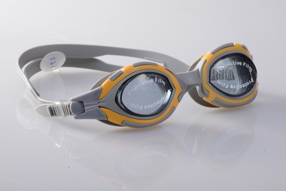 Wholesale One piece Anti-water Anti-fog UV Protection JB7125S Swim Goggles custom color and package